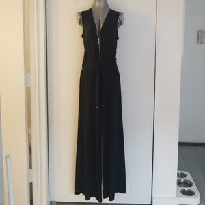 Micheal Kors black small wide leg jumpsuit